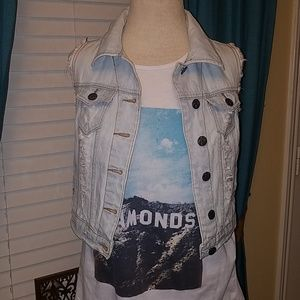 Jean Denim Short Jacket